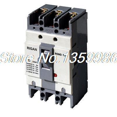 (1)Molded Case Circuit Breaker(MCCB) 20/30/50/60/75/100A 3P 100A Frame 50/60HZ<br>
