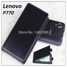 High Quality luxury wallet Leather Case for Lenovo P770 P 770 LenovoP770 Flip Cover cases with Mobile Phone Cases(China)