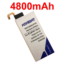 HSABAT 100% New 4800mAh Battery EB-BG925ABE for Samsung GALAXY S6 Edge Battery G9250 G925F G925FQ G925S Phone Battery