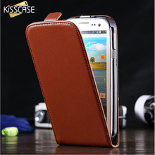 KISSCASE For Samsung Galaxy S3 Cases Retro Leather Mobile Phone Case For Samsung Galaxy S3 SIII I9300 Simple Vertical Flip Cover