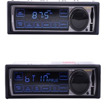 12V Car Stereo FM Car Radio Bluetooth MP3 Audio Player Support Phone USB/SD Car RADIO In Dash 1 DIN Radio Player(China)