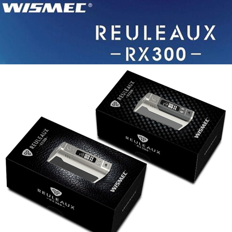 STock! Original Wismec Reuleaux RX300 mod electronic cigarette battery e cigarette Box Mod Vape<br><br>Aliexpress