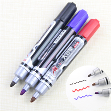 Hot! Waterproof Permanent Paint Marker Pen Black Blue Red Three Colors Car Tyre Tread Environmental Tire Painting Free Shipping