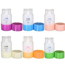 Travel Accessories Cosmetics Packaging Bottles Portable Triad Suit Travel Bottles of Shampoo Bath Dew Wash Empty Bottle 45ML