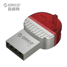 ORICO U1 Mini Metal OTG Music U Disk 2 in 1 Two Connector for Mobile Computer Tablet Car Use - Red