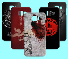 Ice and Fire Cover Relief Shell For Samsung Galaxy A7 2016 Cool Game of Thrones Phone Cases For Galaxy A7 2017 A720