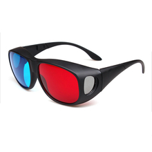 Teyeleec Universal Type 3D Glasses/Red Blue Cyan 3D Glasses Anaglyph 3D Vision Plastic Glasses Dropshipping Free Shipping