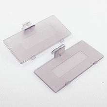2pcs Transparent Purple Battery cover For Nintendo Game Boy Pocket GBP Game Console Battery Door Cover Replacement New