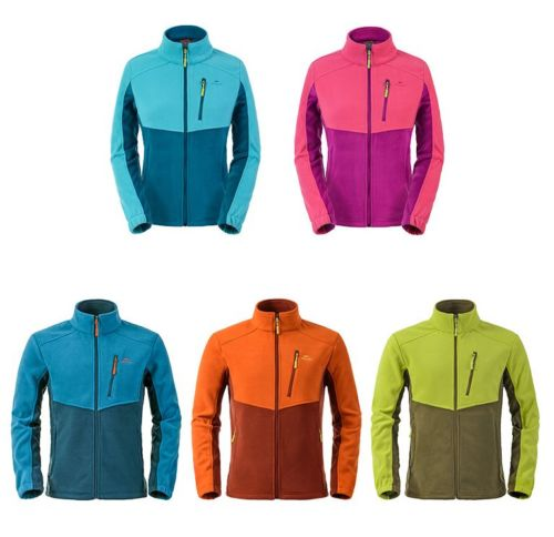 Men Women Outdoor Camping Hiking Ski Thermal Fleece Wind Coat Jacket Liner Tops<br>