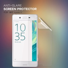 2 pcs/lot NILLKIN Anti-Glare Matte Screen Protector protective film for Sony Xperia X with retailed package