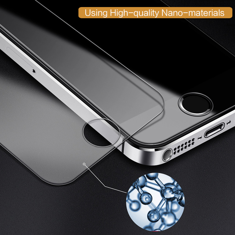 2-PCS-For-Apple-iPhone-5-Tempered-Glass-Film-Topk-9H-Hardness-HD-Tempered-Glass 3