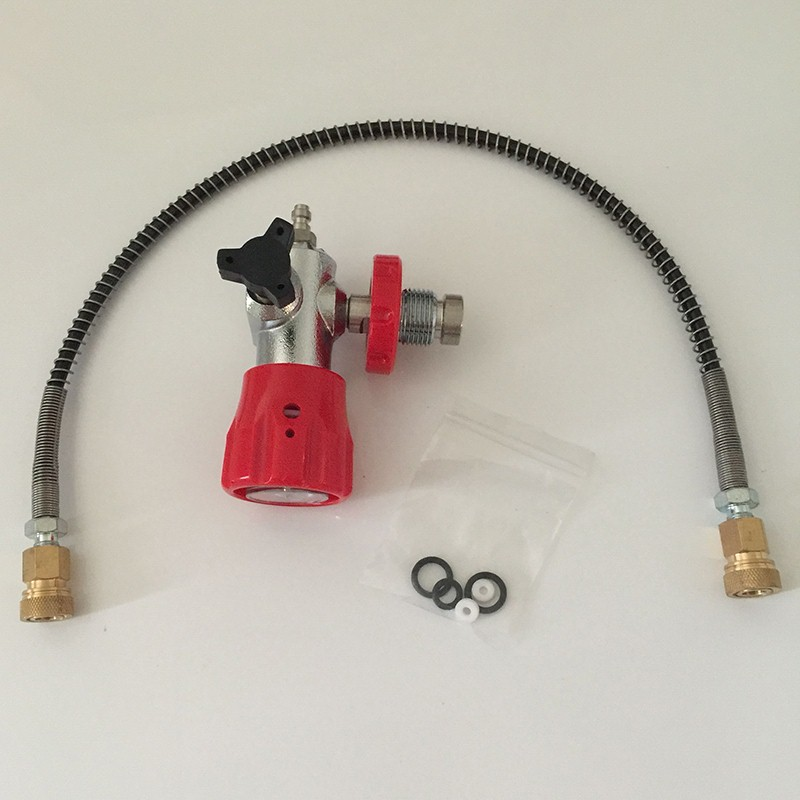 Competitive Price HP Air Tanks Paintball SCUBA CO2 Filling Station Refill Adapter Valve Connector-E<br>