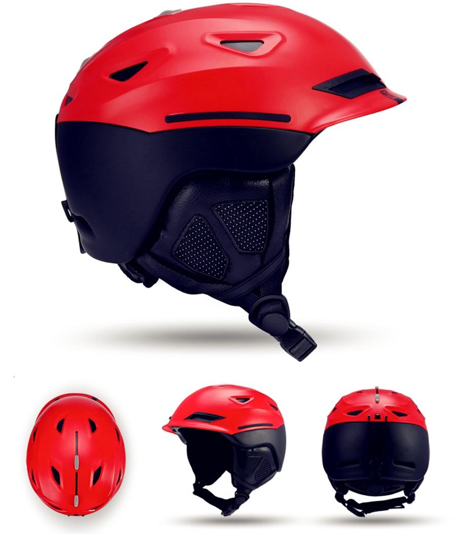 2017 Snow Unisex Ski Helmet Breathable Ultralight Skiing helmet For Men Women Snowboard Skateboard Winter Outdoor Sports Safety<br>