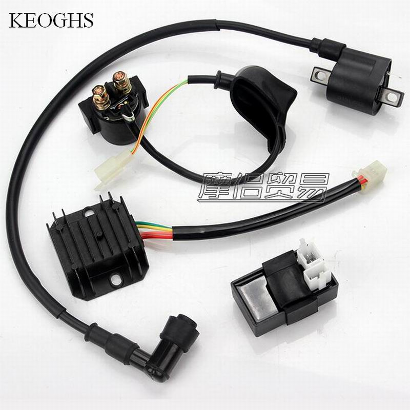 UNIVERSAL atv 150cc atv 150 CG 125CC 200CC 250C ignition switch rectifier starter relay scooter voltage regulator ignition coil(China (Mainland))