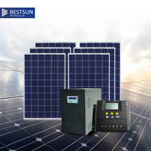BFS-3000W-L Poly panel Complete Set of 3kw off-grid Solar Power System for Irrigation sistema solar para A.B.T BESTSUN(China)