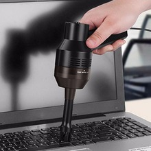 New Mini USB Vacuum Cleaner Computer Keyboard Brush Handheld Dust Cleaning Kit #K400Y# DropShip