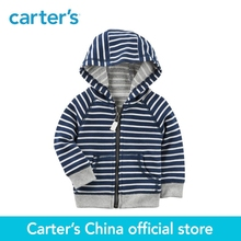 Carter's 1-Piece baby children kids clothing Boy Spring Zip-Up French Terry Hoodie 118I263(China)