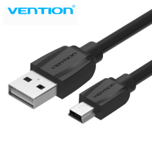 Vention Mini USB Cable 1m 2m Mini USB To USB Cable For Cellular Phones MP3 MP4 Tablets GPS Digital Camera HDD USB Mini Cable