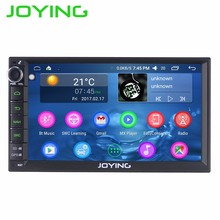 JOYING Android 6.0 Intel Car Entertainment Multimedia Player System Wholesale Double 2 Din Car Audio Radio Head Unit Stereo(China)