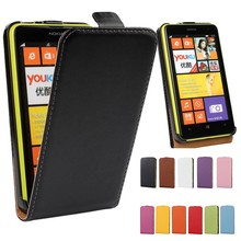 For Nokia Lumia 625 Case Fashion Business Mobile Bag Cover Leather Phone Flip Shell For Nokia Lumia 625 Cases Coque Fundas(China)