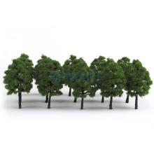 New 2015 Brand New Plastic Model Trees Train Railroad Scenery 1:100 20pcs Free Shipping