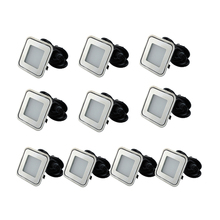 10pcs/Lots Jardin Home Led Underground Lamp Recessed into Hardwood Flooring/Carpet/ Quartz Flooring/ Natural Stone/Light