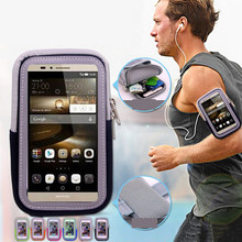 New Style Function Smart phone Sport Running Armband Holder Arm Band Bag Case for Cell Phone Breathable Fabric Hiking Arm Bag