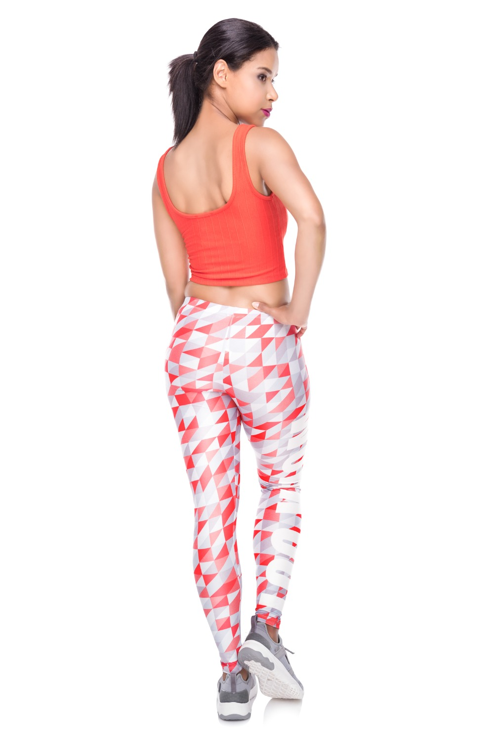 34259 WORK OUT triangle gray red (3)