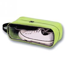 Portable Waterproof Football Shoe Storage Bag Travel Breathable Organizer Sports Gym Carry Storage Case Box(China)