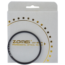 Zomei Ultra Slim UV Ultra Violet Professional Import Optical Glass Filter Protector For Nikon Canon Sony DSLR Camera Lens(China)