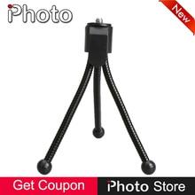 "Universal Mini Metal Flexible Portable Tripod Stand Canon Nikon Sony Pentax DSLR SLR Digital Camera 1/4"" Screw Accessories"