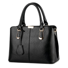New Brand Sequined Women Business Handbag Fashion Shoulder Bag Casual Large Capacity Women Bag Designer PU Leather Tote Bag(China)