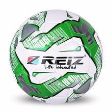 REIZ Standard PU Football Official Size 5 Soccer Ball Decorative Pattern Outdoor Match Training Ball Sport Equipment Hot(China)