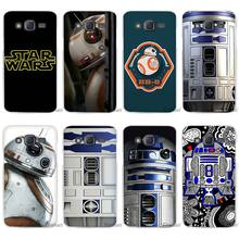 Hot Sale Star wars R2D2 Clear Case Cover Coque Shell for Samsung Galaxy J1 J2 J3 J5 J7 2016 2017 Emerge