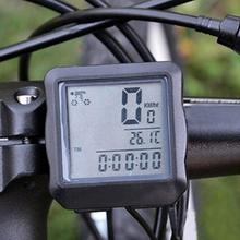Waterproof Auto Bike Computer Light Mode Bicycle Computer Cycling Speedometer with LCD Backlight drop ship(China)