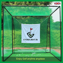 Indoor&outdoor Golf Hitting Cages , Golf Putting Green , Golf Target Practice Net and Mats for Golf Training Course(China)