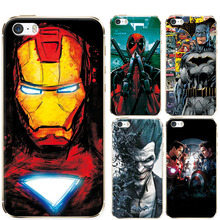 For iPhone 6 6S 6 Plus 6S Plus 5 5S SE Phone Cases Charming Marvel Avengers Heroes For iPhone 7 7 plus Soft Silicone Case Cover