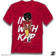 Jack'D Up Tees #IMWITHKAP Colin Kaepernick Kneeling Premium T-Shirt(China)