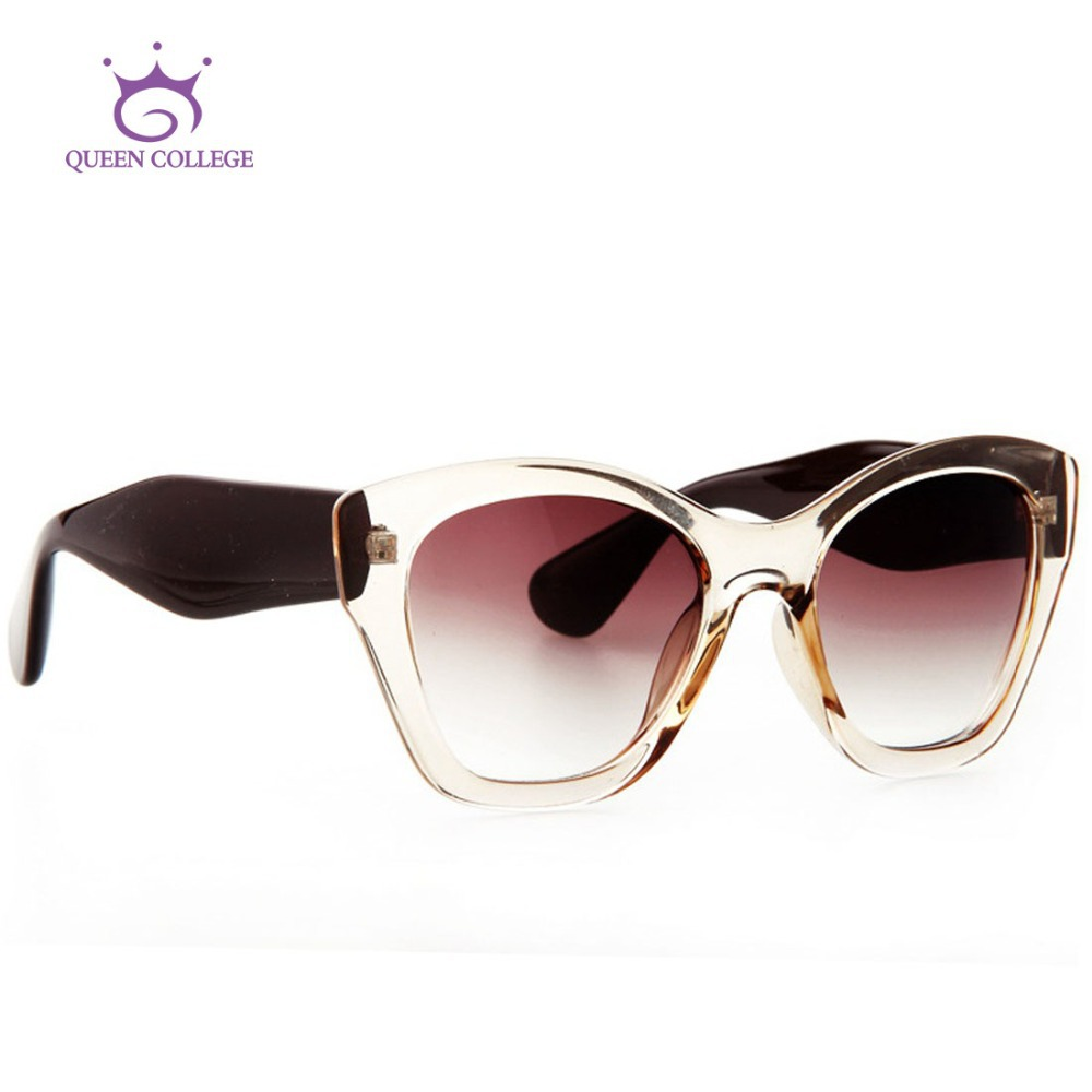 Queen College Newest Free shipping Brand Butterfly sunglasses women High quality sun glasses vintage Eyewear Oculos UV400 QC0187<br><br>Aliexpress