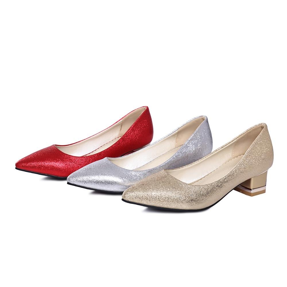 Big size 34-43  3 Colour New Spring Autumn Womens Pumps Women Shoes High Heels PU Party  pumps T-8048<br>