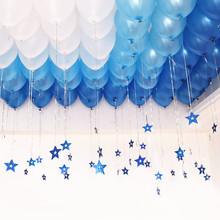 10inch Light Blue Pearl Latex Balloons Inflatable Wedding Decorations Air Balls Happy Birthday Party Supplies Balloon Boy Ballon(China)