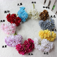 3.5CM artificial gerbera daisies,fake plastic daisy flowers bouquets,Diy daisy wreath,garland flower,silk flower arrangements(China)