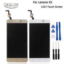 For Lenovo K5 A6020 A40 LCD Display + Touch Screen Original Screen Digitizer Assembly Replacement For Lenovo K5 Phone