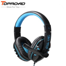 TOPROAD 3.5mm Gaming Headset 3D Surround Sound Game Headphone Earphone auriculares with Microphone for Phones PC computer Gamer