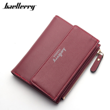 Buy Casual Women Wallet 2017 Bifold Short Card Holder Coin Purse Brand Leather Wallet Female Clutch Small Handy Bag 8 Color Hot Sale for $5.73 in AliExpress store