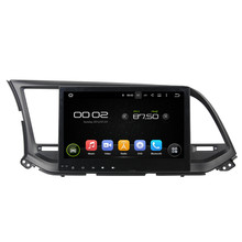 "Octa Core 1GB RAM / 16GB Flash Android 5.1.1 Tablet PC 10.1"" Car Head Unit For HYUNDAI Elantra 2016 Auto Multimedia Player GPS(China)"