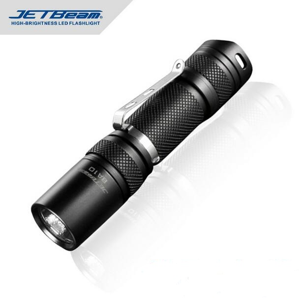Original JETBEAM BA10 CREE XP-G R5 LED 160 lumens flashlight daily EDC torch Compatible with AA battery<br>