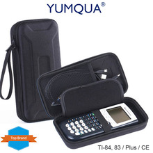 YUMQUA Case Brand for Graphing Calculator TI-84 / Plus 89/83 CE Box Cases Cover Bag Hard Carrying Portable Travel Storage Pouch(China)