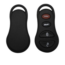 4 Button Remote Keyless Key Fob Shell Case For Jeep Liberty For Dodge Intrepid Stratus Viper For Chrysler Sebring Concorde 300m