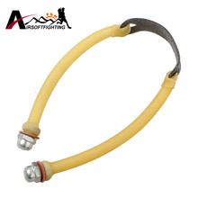 1pc Outdoor Hunting Slingshot Rubber Band Tube For Anti-slip Catapult Latex Bungee Elastica Replacement Kits